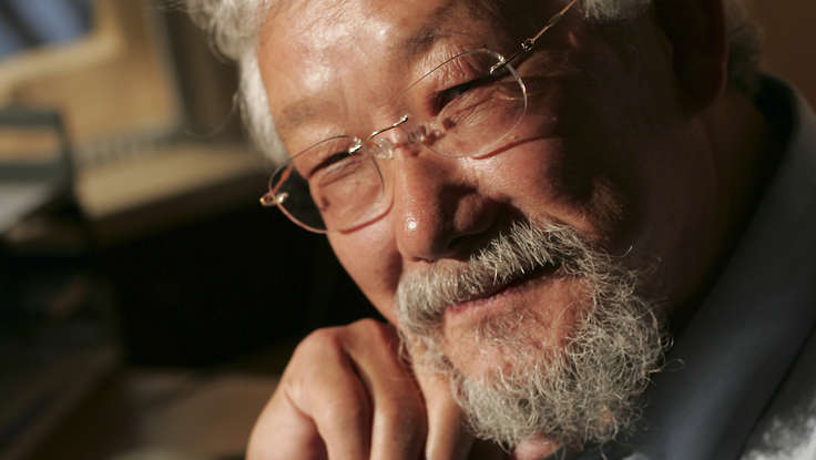 David  Suzuki , keynote speaker